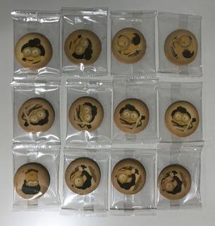 歌舞伎ミニオン プリントクッキー
