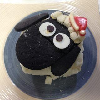 ひつじのショーンのクリスマスケーキ
